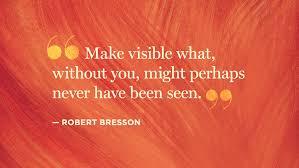 Bresson Quote on inclusion